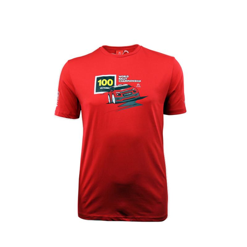Man T-shirt 100 victory Citroën Racing