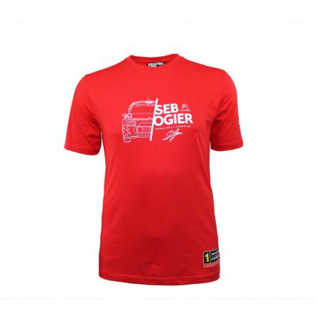 T-shirt homme Sébastien Ogier Citroën Racing