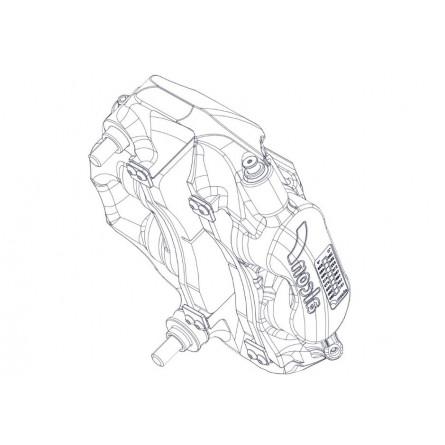 F21 Front Caliper Gravel