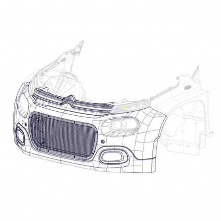 R1A Front Bumper