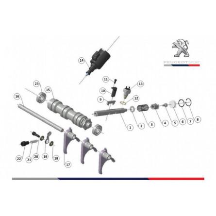 C235 Selector mechanism