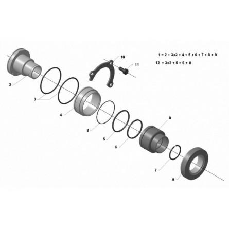 C236 Clutch bearing