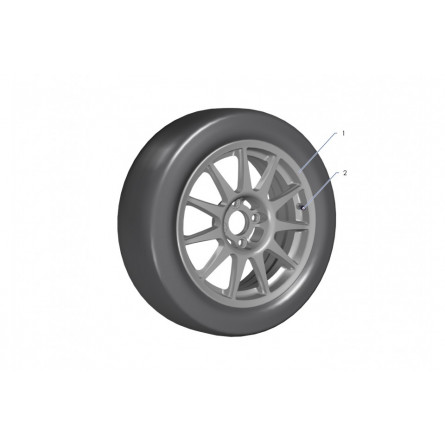 E31A Wheels Tarmac