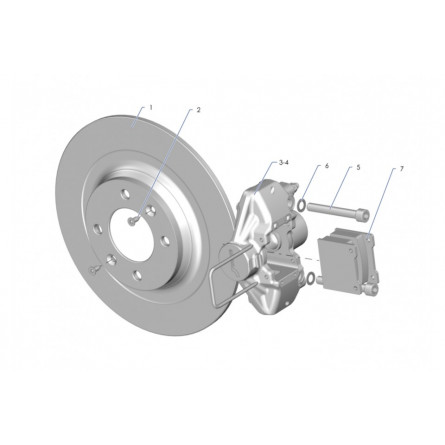 F40 Rear brakes