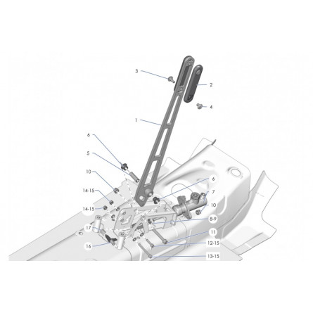 F71 Parking brake device