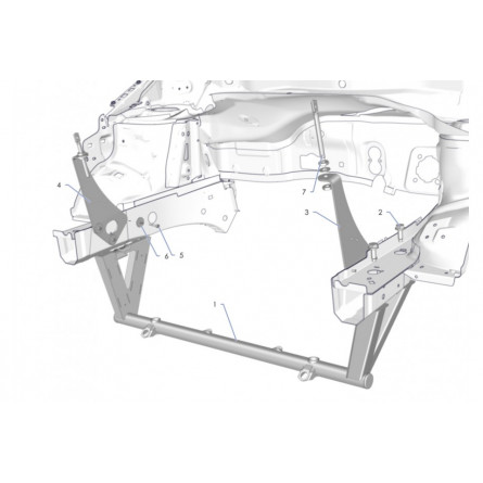 K3D Front block