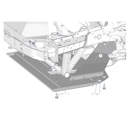 R6A Front undershield