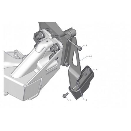 E22A Rear wheel scrapers...