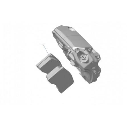 F21 Front brake pads Tarmac