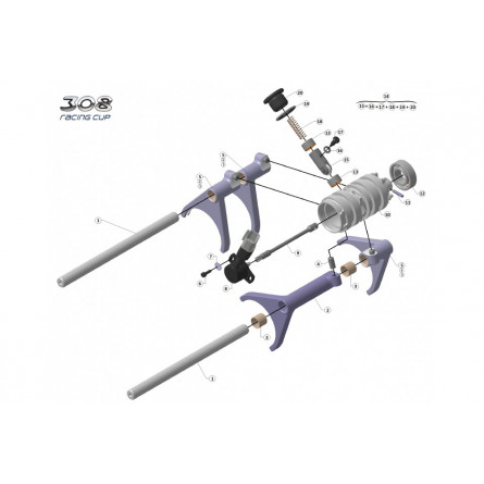 C234 - Gear selector