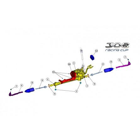 E41/E44 - Steering rack