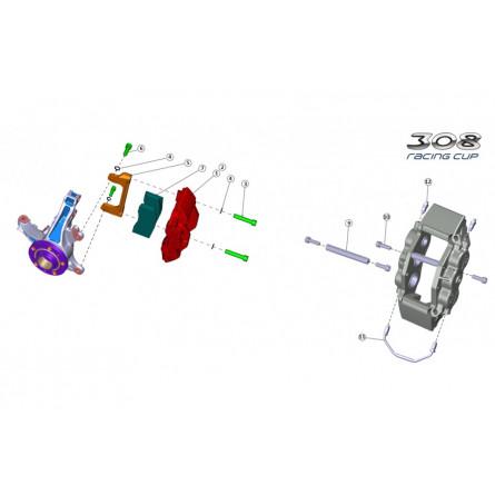 F21 - Front brake caliper