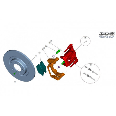 F31/41 - Rear braking system