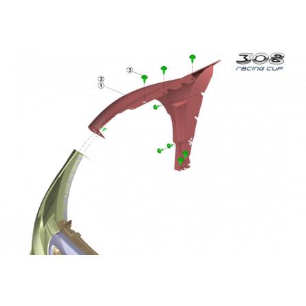 K3C - Front fender