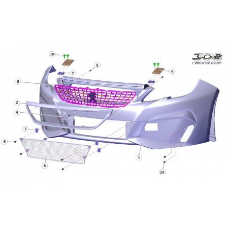 R1A - Front bumper