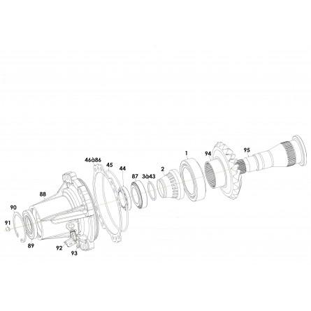 C236 Rear output line