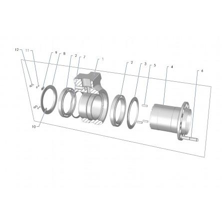 E24A Rear tarmac uprigh