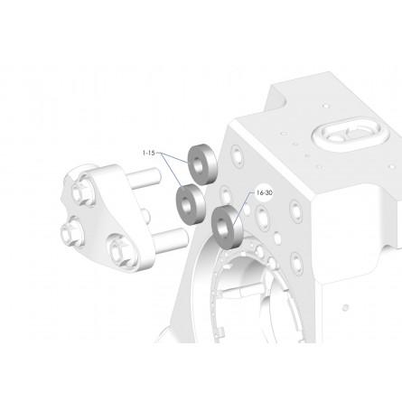 E13-E24 Camber spacer