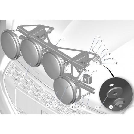 Z2C Ramp of headlight