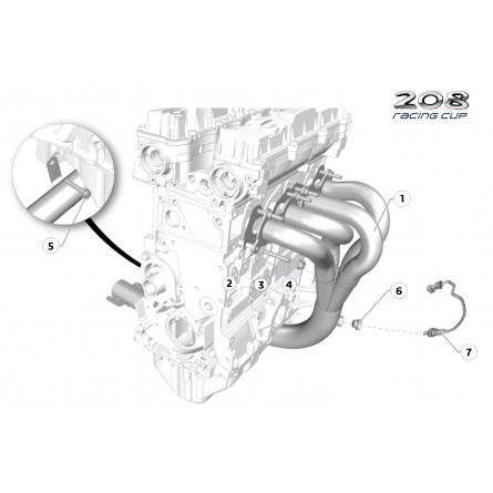 A41 Exhaust manifold
