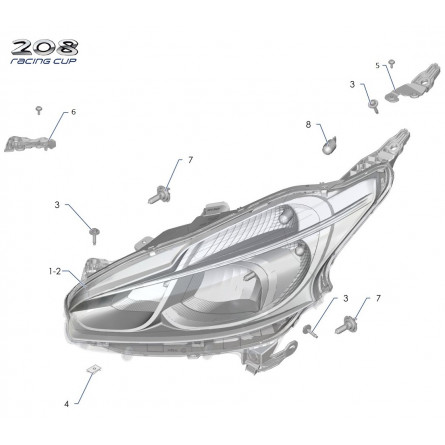 Z2A Headlight