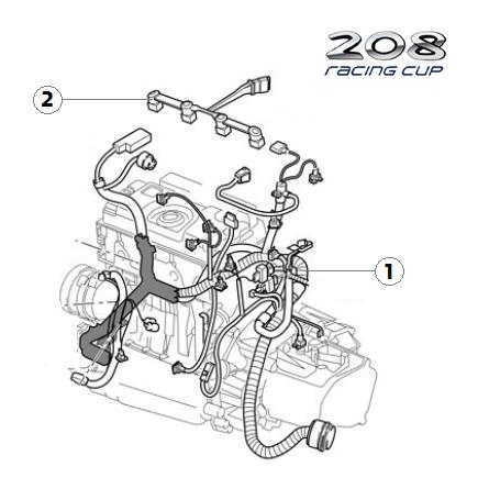 Z9J Engine loom