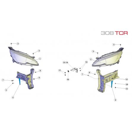Z2A Headlamp Assembly