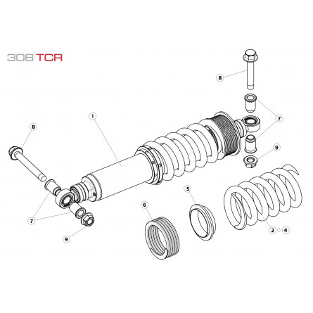 E25 Rear Suspension Assembly