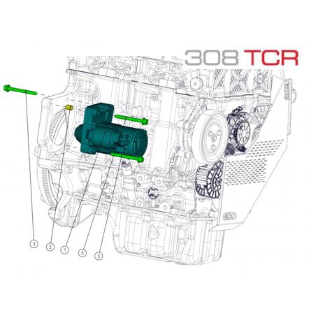 A32 Starter Motor Assembly